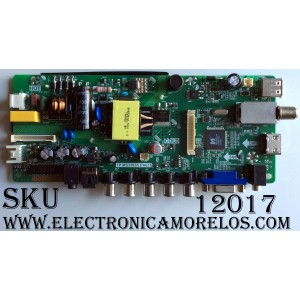 FUENTE / MAIN (COMBO) / ELEMENT H16071082 / SY16233-1 / 890-M00-06NBN / TP.MS3393A.PA671 / MODELO ELEFW195 / PANEL LC185TT7A