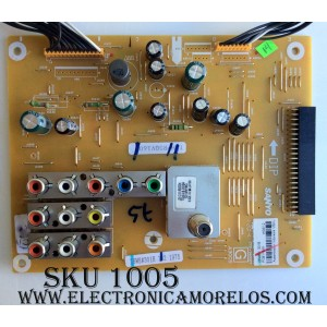 MAIN ANALOGICA / SANYO Z6WE / 1LG4B10Y1040A Z6WE / 1LG4B10Y1040A / PANEL V500HJ1-L01 REV.C1 / MODELO DP50842 P50842-00