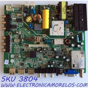 MAIN / FUENTE (COMBO) / HAIER 510-121122166 / MSTV2407-ZC01-01 / M40/G34139/15 / F35WT-4A-E / MODELO LE32H320D