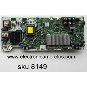 MAIN / FUENTE (COMBO) MAGNAVOX A5D21UT / BA5D24G0201 2 / MODELO 40MV336X/F7 / PANEL U5A22XT