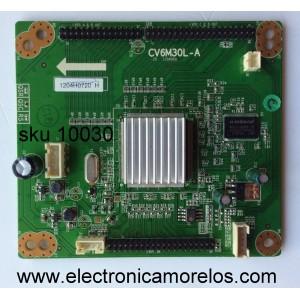 DRIVER DE T-CON / APEX 1204H0720 / CV6M30L-A / MODELO LD4077M / PANEL LTA400HF11-W05