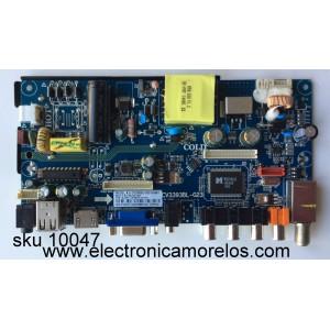 MAIN / FUENTE / (COMBO) / SPELER CV3393BL-G23-10-BA1 / CV3393BL-G23 / BJM1-123852-0T2G / 003LP236824A0 / CQC08001027825 / MODELO SP-LED24