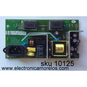 FUENTE DE PODER / VZON LS2404007 / LS2404007-00-GP(1004) / MODELO TV2200 / PANEL LTA216AT01