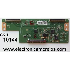 T-CON / VIZIO 3806B / 6871L-3806B / 6870C-0532A / PANEL´S LC430DUY (SH)(A1) / TPT430H3-DUYSHA G REV. S1 AL / JHD426N2F21-K1QL\S0\FM\RO / MODELOS E43-C2 / D43-C1 / 43ME345V/F7 DS1 / 43MV314X/F7 / 43PFL4902/F7 / LE43A509 / FW43D25F DS1 / LC-43P5000U