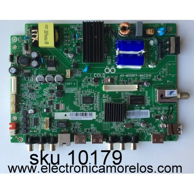 FUENTE / MAIN / (COMBO) / TCL V8-MS08FPS-LF1V054 / SVSM8-32D16ZF-MA2 / IDF12445J-2710 / 40-MS08FP-MAC2HG / MS08FP