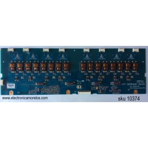 BACKLIGHT INVERSOR / MAGNAVOX VIT68001.70 / VIT68001.70-3 / CPT 320WA01C / MODELO 32MF231D/37 / PANEL CLAA320WA01