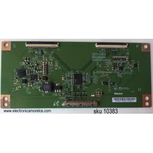 T-CON / LG 4V9Q62FTR / E222034 / 4V9Q62FTR3508A4HZ08100 / 15012802 / PANEL NC500DUN-VXBP3 / MODELOS 50LF6090-UB / 50LF6090-UB BUSJLOR