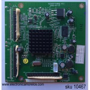 DRIVER / SEIKI TI11210 / SZTHTFTV1812 / 1.B.08.230000492 / MODELO LC-40G81 / PANEL LTA400HF11-W03