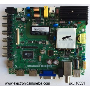 MAIN / FUENTE / (COMBO)/ PROSCAN K15082631 / 12134083574 / TP.MS3393.PB801 / MODELO PLDED4331A / PANEL HV430FHB-N40