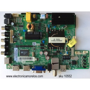MAIN / FUENTE / (COMBO) / ELEMENT 821-393PB-85106 / N14070238 / TP.MS3393.PB851 /  / CN.P8F42.01 / MODELO ELEFW40C / PANEL V400HJ6-PE1
