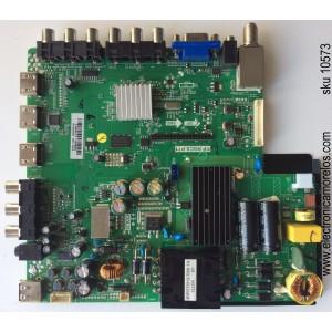 MAIN / FUENTE / (COMBO) / SCEPTRE A13093127 / TP.RSC8.P71 / MODELO X405BV-FHDR8HM / PANEL CN40HA476 / LSC400HM06