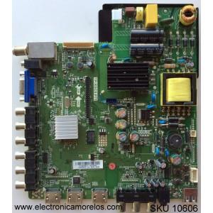 MAIN / FUENTE / (COMBO) / SCEPTRE A13093047 / TP.RSC8.P71 / MODELO X322BV-HDR8WX2201P71 / PANEL CN32HA631 / HV320WX2-201
