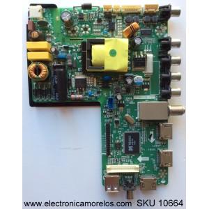 MAIN / FUENTE / (COMBO) / ATVIO B14100125 / LC320TU2A / TP.MS3393.P87 / MODELO ATV3214LED / PANEL LS320TU8P01
