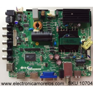 MAIN / FUENTE / (COMBO) SEIKI H15041035 / 34013810 H15041035 / TP.MS3393.PB851 / MODELO SE42FK / PANEL T430HVN01.0