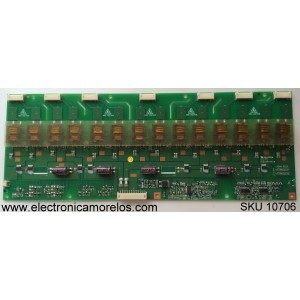 BACKLIGHT INVERTER / SANYO 19.26006.286 / 1926006286 / VIT79002.52 / MODELO DP32746 P32746-01 / PANEL T315XW01 V.G