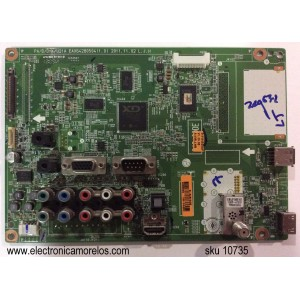 MAIN / LG EBT61875113 / EAX64280504(1.0) / SUSTITUTAS EBT61855406 / EBU61590709 / MODELO 50PA4500-UF.AWMLLHR / PANEL PDP50T40000