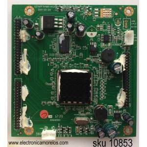 TARJETA DE INTERFAZ / MST_FLASH_128K_ONECHIP_T400D3 / SAIKI TI12401-1 / SZTHTFTV1911 V1.3 / MODELO SC402GS / PANEL T400D3-HA24-C06 (VER.A1)