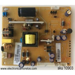 FUENTE DE PODER / RCA RE46HQ0501 / RS050S-4T02 / 3BS0003901GP / REV1.0 / MODELO LED32C45RQD