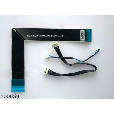 KIT DE CABLES PARA TV / SAMSUNG BN96-20370C / MODELO HG32NA477PFXZA TS02