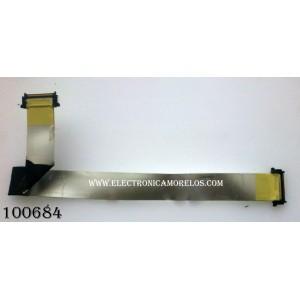 CABLE LVDS PARA TV / SAMSUNG BN96-07161M / MODELO LN46A650A1FXZA