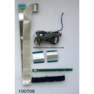 KIT DE CABLES DE TV / LG EAD60679313 / EAX56608701(2) / MODELO 47LH303