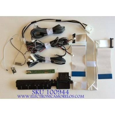 KIT DE CABLES PARA TV SONY / 173204011 / 68717-0447/P / MODELO KDL-55NX810