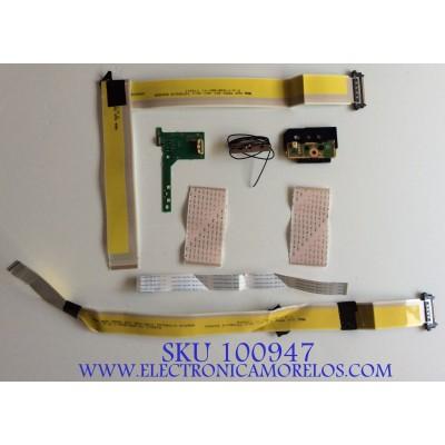 KIT DE CABLES SONY / 1-849-891-11 / 1-849-886-11 / U70418V12  / 13985A / MODELO XBR-55X900E