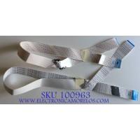 KIT DE CABLES VIZIO / 0460-2850-0441 / 0460-2850-0431 / AWM 20706 E97252-K VW-1 / MODELO E470I-A0 LATKOCBP