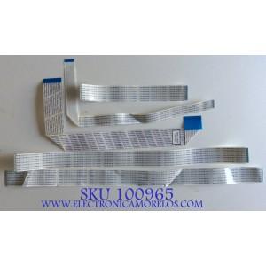 KIT DE CABLES PARA TV  SAMSUNG / BN96-12469G / MODELO PN50C450B1DXZA