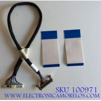 KIT DE CABLES PARA TV INSIGNIA / E338571 / 20861 / MODELO NS-48D510NA15