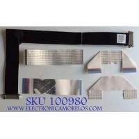 KIT DE CABLES PARA TV LG / EAD62232920 / 3YSI140901(440) / E129545 / 20861 / MODELO 60UB8200-UH  AUMWLJR