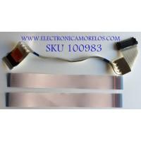 KIT DE CABLES PARA TV LG / EAD63990506 / EST180103(310) / MODELO 49LV570H-UA