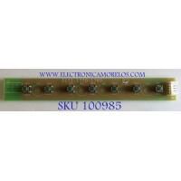 BOTONERA VIZIO / 3637-0012-0156 / 0171-1770-1760 / MODELO VX37L HDTV