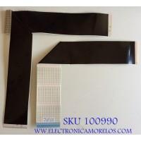 KIT DE CABLES SAMSUNG / BN96-39820F / BN96-39821F / MODELO UN55RU7100FXZA FA01