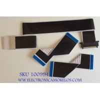 KIT DE CABLES PARA TV SHARP / 1202037 / E248682 / AWM 20941 105C 90V / MODELO LC-58Q7370U