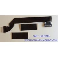 KIT DE CABLES PARA TV SHARP / 1204481 / AWM 20706 / 190403 / MODELO LC-55LBU711U