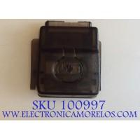 BOTON POWER ON PARA TV SHARP / 242930 / 190412 / RSAG7.820.7181/ROH / MODELO LC-55LBU711U