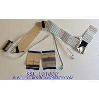 KIT DE CABLES PARA TV VIZIO / 76Z080014 / E310361 / E241234 / MODELO M50-C1 LTCWSPBR