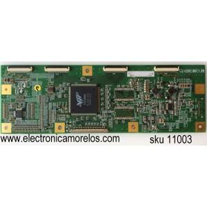 T-CON / SOYO 222000002101 / V26C1C1.5 / MODELO MT-SYTPT2627AB / PANEL T260XW02