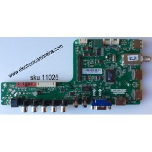 MAIN / SANYO B14010342 / T.MS3393T.78 / 02-MB3393-CWS001 / 3MS3393X-3 / MODELO DP55D44 P55D44-00 / PANEL LVF550SSDX E1 V1