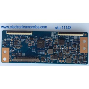 T-CON / VIZIO 55.50T15.C07 / 5550T15C07 / T430HVN01.0 / SUSTITUTAS 55.50T15.C04 / 55.50T15.C06 / MODELOS E500I-B1 LTMWPLEQ / LTMWPLJQ / LTYWPLCQ / LTYWPLDQ / LTYWPLEQ / LTYWPLLQ / E50-D1 LTMWUGAS / ELEFW504A / ELEFT506 / ELST5016S / DWM50F3G1