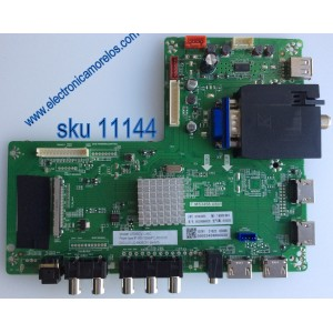 MAIN / SCEPTRE U505CV-UMC / T.MS3458.U801 / MODELO U50LNIV58AA / U505CV-UMC / PANEL LC490EGY(SH)(M3)