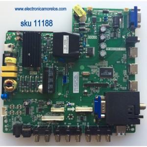 MAIN / FUENTE / (COMBO) / SCEPTRE H15091581 / TP.MS3393.P712 / MODELO E40 E405BD-FMQR8CRBV93CE / PANEL V400HJ6-PE1