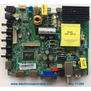 MAIN / FUENTE / (COMBO) / ELEMENT 66H10611 / CV3393BH-U39 / MODELO ELEFW4016 / PANEL LSC400HN02