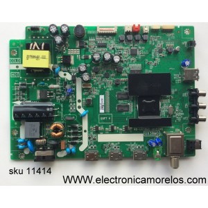 MAIN / FUENTE / (COMBO) / TCL T8-32NAZP-MA3 / GTC000545A / V8-UX38001-LF1V030 / 40-UX38M0-MAD2HG / T8-32NAZP-MA3 / MODELO 32S3750 / PANEL LVW320CS0T E273