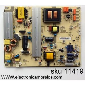 FUENTE DE PODER / HITACHI 50326502000060 V1.0 / 401-2Q401-D4202 / HKL-650201 / HKL-650401 / PANEL´S T650QVR01.5 / T650QVN02.0 / MODELOS LE65K6R9 / 65K3 / SLED6516