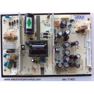 FUENTE DE PODER / SEIKI MP022-TFV1 / 890-PM0-3909 / MP022-TF / MODELO SE391TS / PANEL T390H1-P01-D02 (VER.A2)