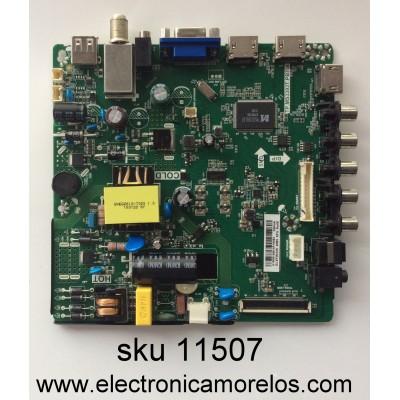 FUENTE / MAIN (COMBO) / ELEMENT H15081468 / TP.MS3393T.PB758 / MODELO ELEFW328 / PANEL BOEE1320WX1-01