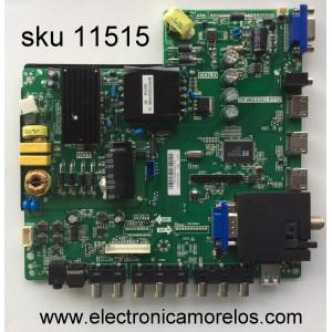 FUENTE / MAIN / (COMBO) SCEPTRE Y14070064 / TP.MS3393.P712 / MODELO X40 X405BV-FMQR8 / PANEL LSC400HN02