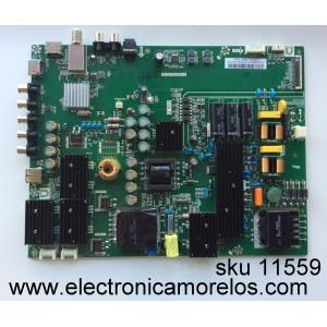 MAIN / FUENTE / (COMBO) VIZIO A16090089 / TP.MS3553.PC761 / MODELO D55N-E2 LWZ2VPBS / PANEL T550HVN08.5